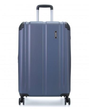 Średnia walizka travelite city 73048-20 niebieski