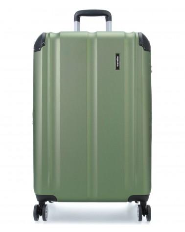 Duża walizka travelite city 73049-80 zielony