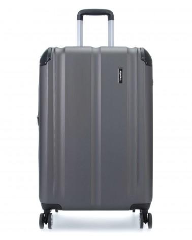 średnia walizka travelite city 73048-04 grafit
