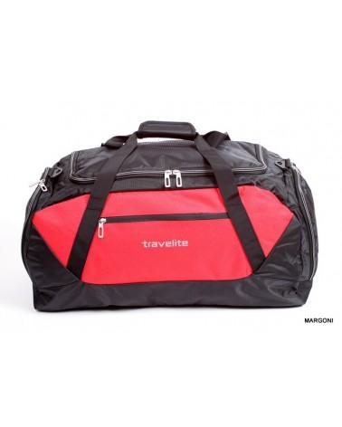 Torba podróżna travelite kick-off 6815 L czarny-czerwony
