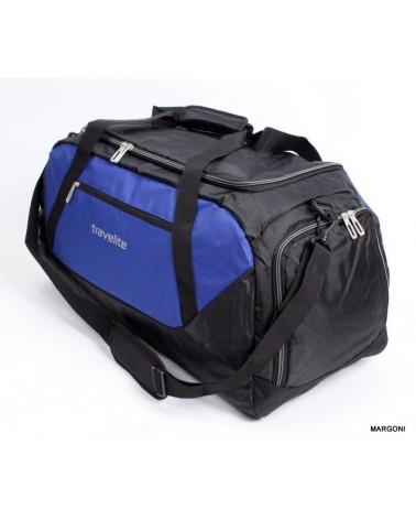 Torba sportowa Travelite Kick-Off XL 6816 czarny-nibieski