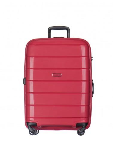średnia walizka puccini madagascar 24 pp013 czerwony