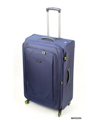 Duża walizka viaggiatore 28 mv104 niebieski