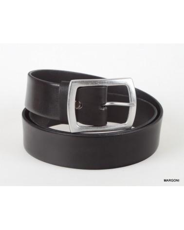 Pasek skórzany massimo 4 cm 057 czarny