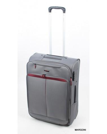 Średnia walizka viaggiatore 24 mv401 szary