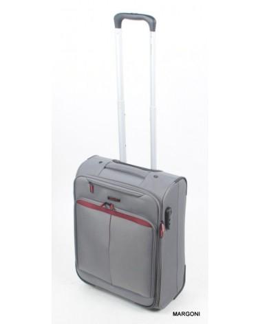 Mała walizka viaggiatore 20 mv401 szary