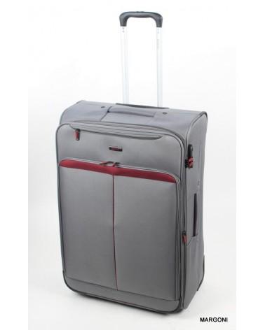 Duża walizka viaggiatore 28 mv401 szary