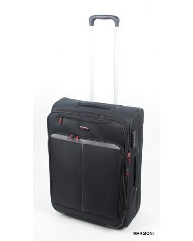 średnia walizka viaggiatore 24 mv401 czarny