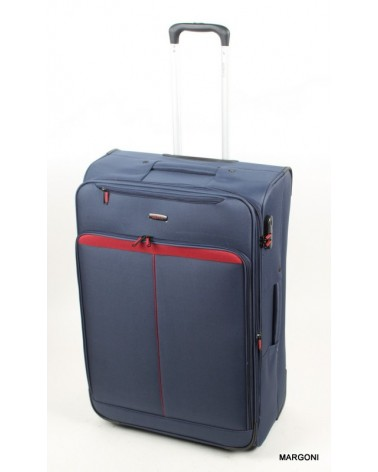 Duża walizka viaggiatore 28 mv401 niebieski
