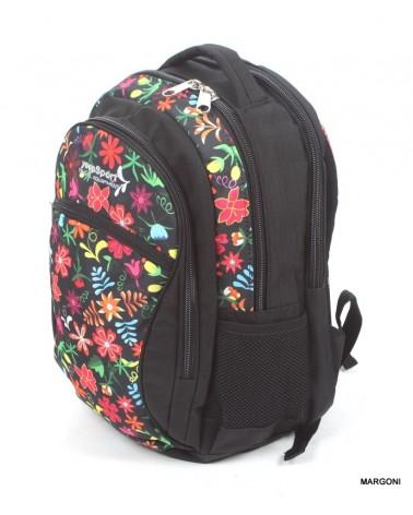 Plecak szkolny yeep sport s-94dx kwiaty 2