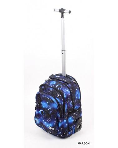 Plecak szkolny na kołach st-reet tb-01 Cosmos + gratis