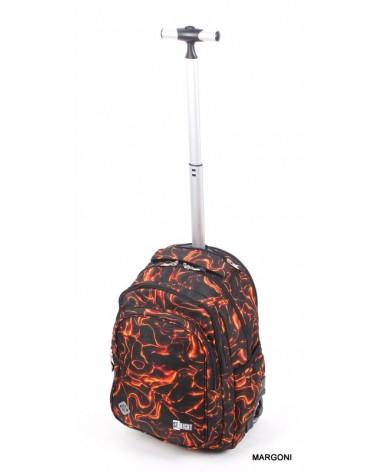 Plecak szkolny na kołach st-reet tb-01 Lawa + gratis