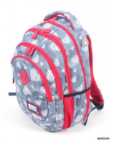 Plecak szkolny astra hd-196 niebieski