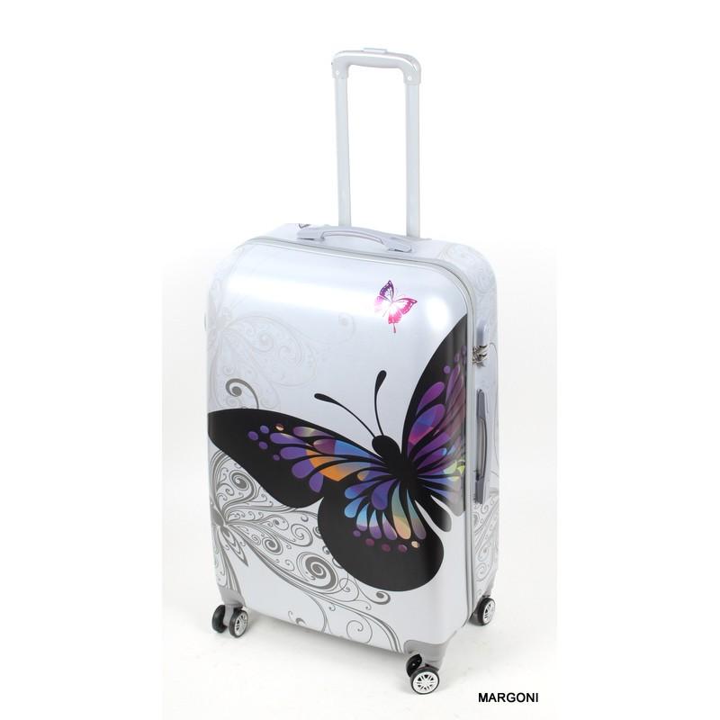 40e81dd15d4e1 Duża walizka gravitt 28 046 motyl - Bagaż - Margoni