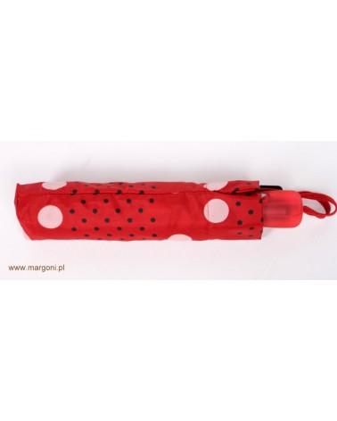 75112 czerwony - PARASOL DAMSKI  PIERRE CARDIN 75112 CZERWONY
