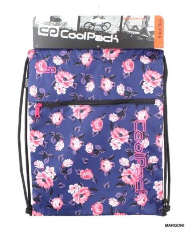 Worek szkolny na buty coolpack Rose