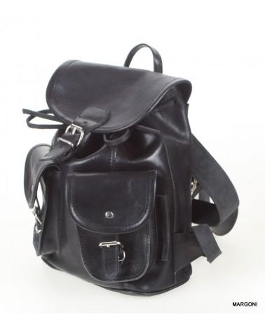 Plecak skórzany damski stefania b-900/j czarny