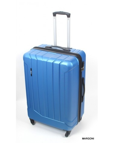 Duża walizka m. viaggiatore 28 mv303 niebieski