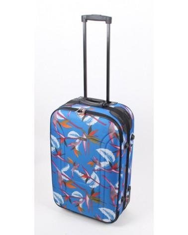 Średnia walizka travel land 24 niebieski