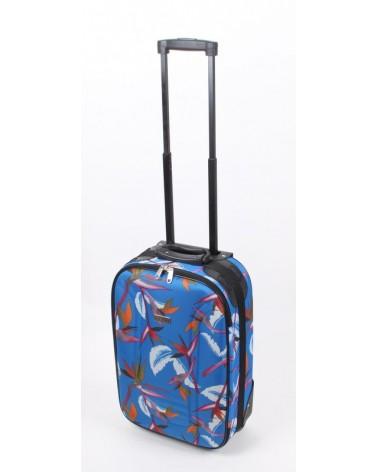 Mała walizka travel land 20 niebieski