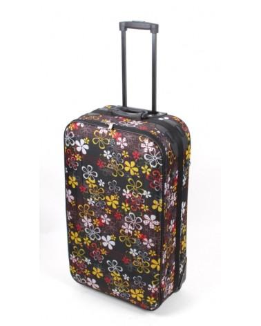 Duża walizka travel land 28 czarny