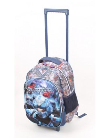 Plecak szkolny na kołach MADISSON t53217 AWARRIOR