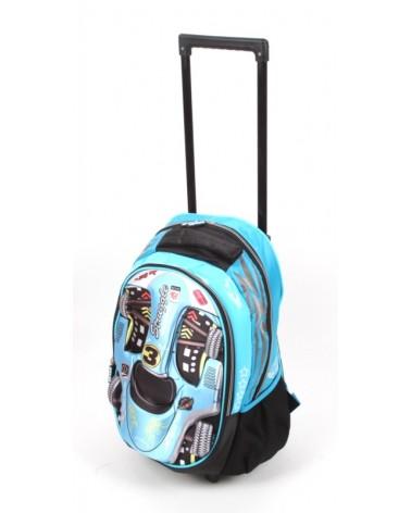 Plecak szkolny na kołach madisson t53117 F-1