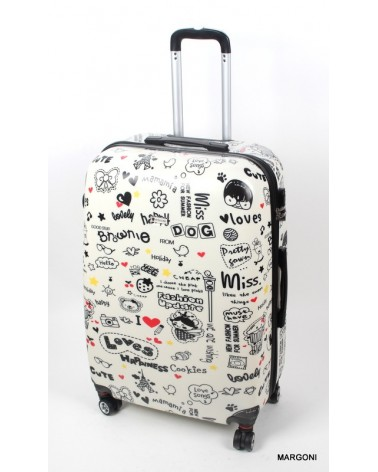 Duża walizka WorldLine 808/28 Love