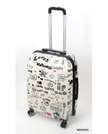Średnia walizka worldline 808/24 love