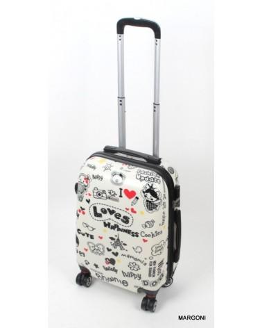 Mała walizka WorldLine 808/20 Love