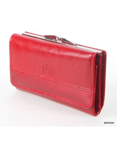 Portfel damski perfekt p/45a czerwony