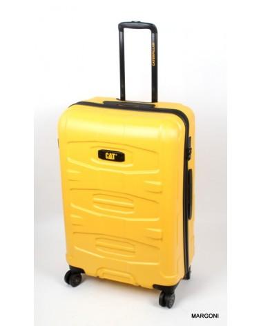 Duża walizka cat tank 28 83383 żółty