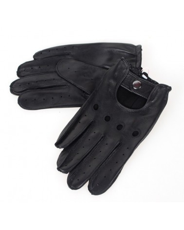 Rękawiczki skórzane Insignium IR233KC czarne