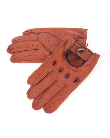 Rękawiczki skórzane insignium ir233klt brąz