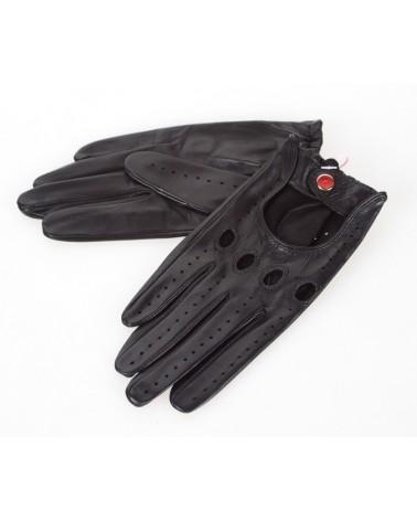 Rękawiczki skórzane insignium ir523kc czarny