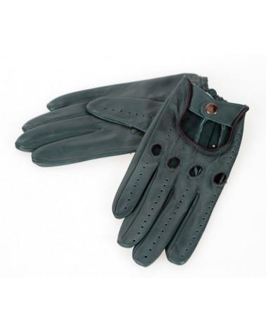 Rękawiczki skórzane insignium ir523khb zielony