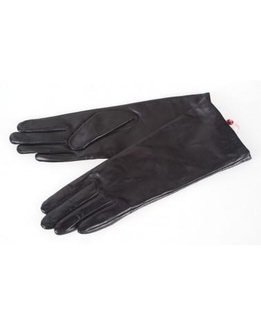Rękawiczki damskie skórzane insignium ir154kc czarny