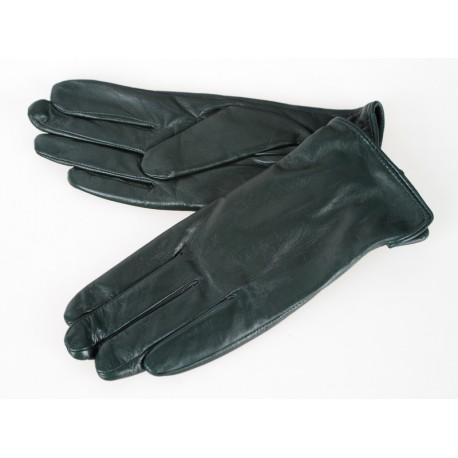 Rękawiczki damskie skórzane insignium ir139kh zielony