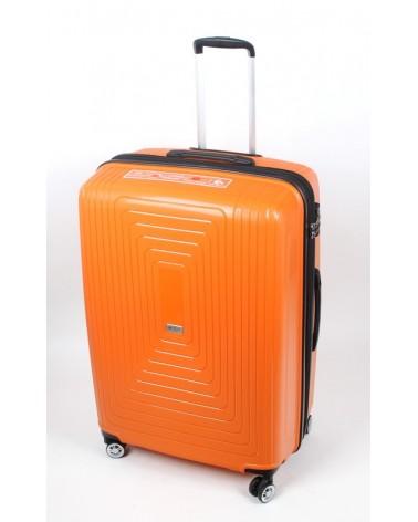 Duża walizka airtex 28 241 pomarańcz