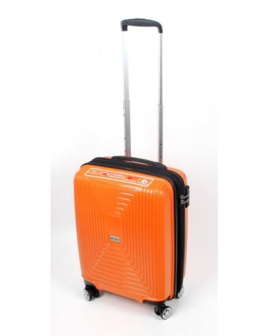 Mała walizka airtex 20 241 pomarańcz