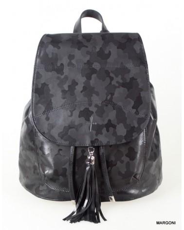 Plecak skórzany damski gawor g-141 czarny