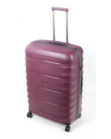 Duża walizka airtex 28 242 burgund