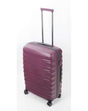 średnia walizka airtex 24 242 burgund