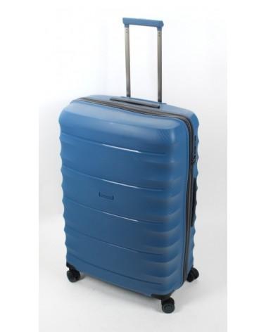Duża walizka airtex 28 242 niebieski