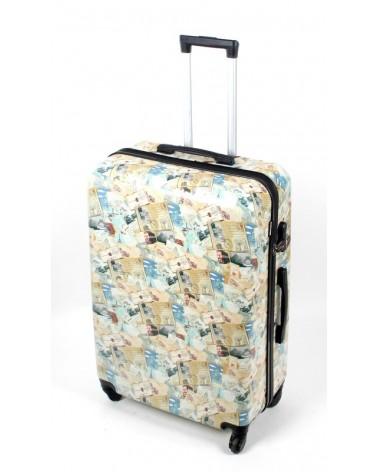 Duża walizka Bagia 28 BL30 Post Cards