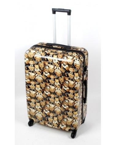 Duża walizka bagia 28 bl27 Teddy Bear