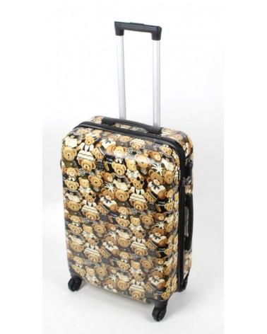 średnia walizka bagia 24 bl27 Teddy Bear