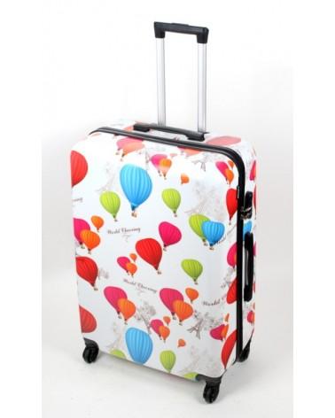 Duża walizka bagia 28 bl02 Balony