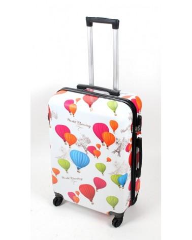 średnia walizka bagia 24 bl02 Balony