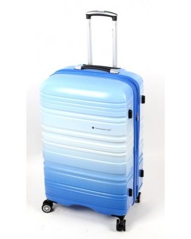 Duża walizka Snowboll 28 85703 Blue